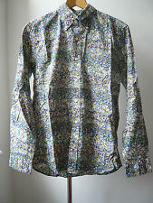Very Cool SOPHNET floral print very light spring summer Shirt Sz M