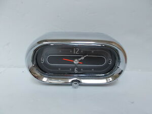 1958 Cadillac Eldorado Deville Clock. Serviced, Tested and Working. BEAUTIFUL!!!