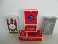 CARTE PIACENTINE TELATE TRIPLEX POLIPLASTICHE ART. 21 MASENGHINI