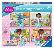 CHILDRENS DOC MCSTUFFINS 4 IN BOX JIGSAW PUZZLES RAVENSBURGER