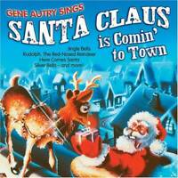 Gene Autry Sings Santa Claus Is Comin' To Town - Audio CD - VERY GOOD