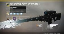 Whisper of the Worm - 100% Catalyst Completion & Ship - Xbox/PS4/PC