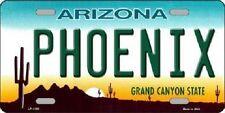 Phoenix Arizona Novelty Metal License Plate