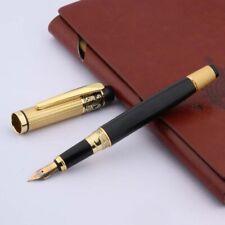 H Black Gold  RO 901 LuxuryStainless Medium Nib Roller Ball Fresh Foruntain Pen