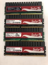 Patriot Sector 5 PGV34G1600ELK DDR3 8GB 4x2GB MODULES GAMING RAM 1600MHZ