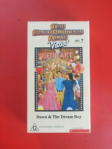 Vintage - The Babysitters Club - no. 7 - Dawn & The Dream Boy - VHS Tape