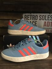 Adidas Originals Trimm Trab Trainers UK Size 9 Size Exclusive Blue Pink M21042