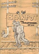 BEANPOT OCTOBER 1925 BOSTON U COMIC MONTHLY VG+ SUPER RARE-75% PRICE CUT