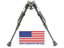 """HBL Harris Bipod - Extends from 9"""" to 13"""" - Ultralight - 100% made in the USA"""