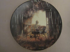 The Spring Buggy collector plate Maurice Harvey Country Nostalgia