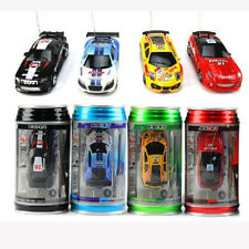 New Multicolor Coke Can Speed RC Radio Remote Control Micro Racing Car Toy Gift
