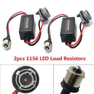 1156 BA15S P21W 7503 Canbus Canceller LED Signal Load Resistor Decoder No Error