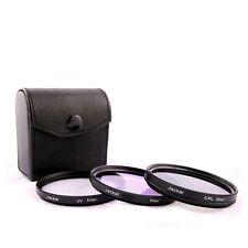 Jackar 58mm UV+CPL+FD Filter Set For Canon EF 28–80 70–300 EFS 18–55mm 55–250mm