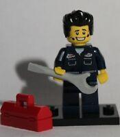 Real Genuine Lego 8827 Series 6 Minifigure no. 15 Mechanic