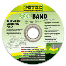 Petec 87520 KARO Band Dichtband Knetmasse Karosseriedichtband 2 mm x 20 mm