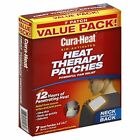 Cura-Heat Heat Therapy Patches, Air Activated, Neck Shoulder & Back, 7 Pack