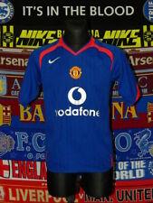 4.5/5 Manchester United adults S 2005 away football shirt jersey trikot