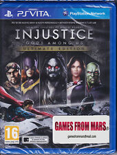 INJUSTICE GODS AMONG US ULTIMATE EDITION - PS VITA - NUOVO