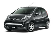 Peugeot 107 Car Owners Handbook Manual (all models from 2005 to Present) NEW