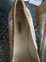 le silla ladies shoes 39 suede iconic