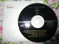 Tim McGraw – Not A Moment Too Soon Curb Records – CURCD 010 CD Album