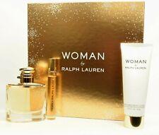 Woman by Ralph Lauren  Perfume  50ml  EDP Spray + 10ml & Lotion GIFT SET RRP £75