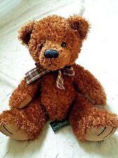 "Russ Berrie 12"" Teddy Bear Desmond Designer Rikey Austin Plush Stuffed Animal"