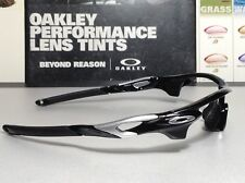 Oakley AF Radarlock Polished Black w/ Silver Oakley Icons - New SKU# 9206-01