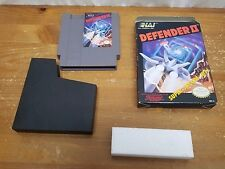 BRAND NEW Old Stock NES -- Defender II (Nintendo Entertainment System, 1988)