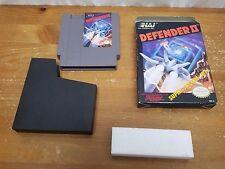 BRAND NEW Old Stock NES -- Defender II (Nintendo Entertainment System, 1988)