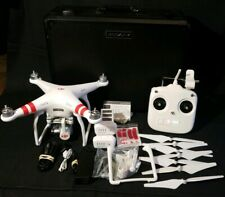DJI Phantom 3 Standard Quadcopter Camera Drone With 2 battery, Case, and More!