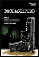 2012 SIG SAUER MK25 P226 Pistol Original PRINT AD Collectible Gun Advertising