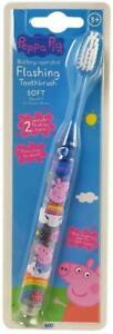 Peppa Pig Flashing Childrens Toothbrush 3 YEARS+ SAME DAY DISPATCH