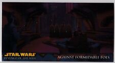 STAR WARS TOPPS REVENGE OF THE SITH WIDEVISION ROTS RETAIL CHROME FOIL INSERT R5