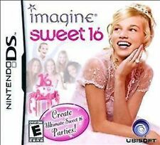 Imagine: Sweet 16 COMPLETE Nintendo DS DSI XL LITE 3 3DS 2 2DS **FREE SHIPPING!!