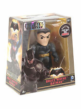 """Batman vs Superman Bruce Wayne 4"""" Metals Die Cast Figure Jada Toys DC COMICS"""