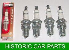 4 Champion Spark Plugs for Triumph Herald 1200 Courier Van 1962-64 ~ L87Y 43fs