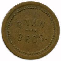 Ryan Bros. Blanchardville, Wisconsin WI 2½¢ Trade Token