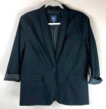 Gap Woman's Blazer Black Jacket Career  Women's Size 14