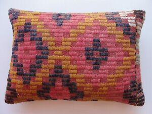 """Pillow Cover,14"""" x 20"""", Throw Pillow, vintage Turkish pillows, living room"""