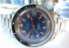 Vintage Swiss Made Diver 20 Atmos Incabloc Bakelite Bezel Automatic Movement