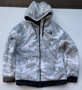 The North Face - Mens Camouflage Reversible Insulated Hooded Jacket / Size L