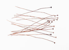Solid Copper 2.25 Inch 26 Gauge Nailhead Headpin Findings • Q100 • 30830