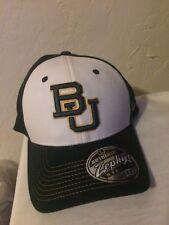 Baylor Bears Zephyr Bleacher Stretch Fit hat XL Green/White