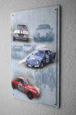 Garage Metal Tin Sign Poster Plaques Race Cars Auto Racing Gas Stations Vintage