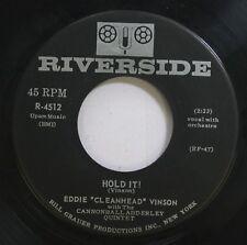 Hear! Jazz Blues R&B 45 Eddie Cleanhead Vinson - Hold It! / Back Door Blues On R