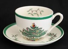 Spode Christmas Tree Pattern Cup and Saucer set