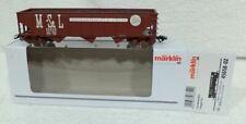 Marklin 45658 -02 USA Gondola MINNEAPOLIS & St LOUIS steenkool kortkoppelingen