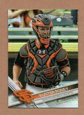 2017 Topps Chrome Buster Posey Variation Refractor