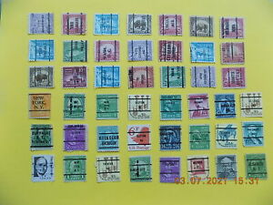 U S   Collection of all used PRECANCEL DEFINITIVES -3-FF